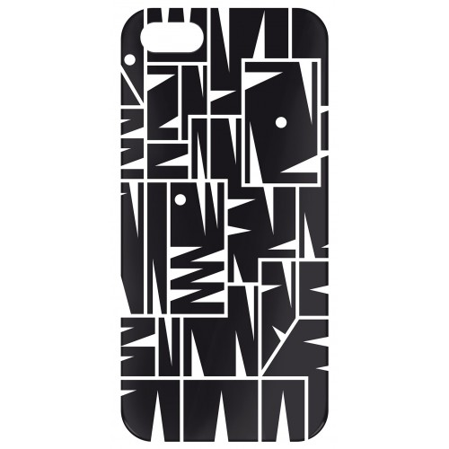 "Coque Iphone 5/5s Pylones ""icover"" man"
