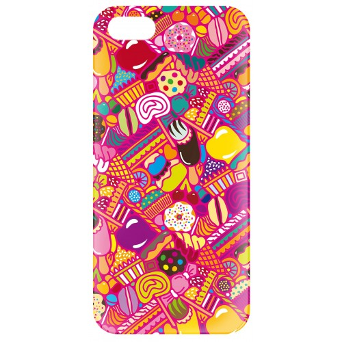 "Coque Iphone 5/5s Pylones ""icover"" candy"