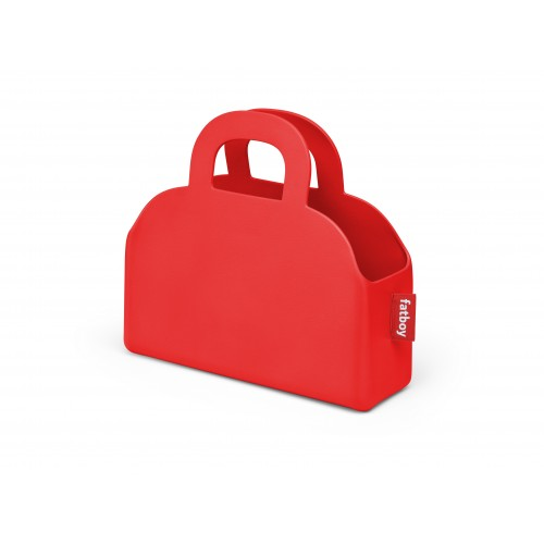 Sac Fatboy « sjopper-kees » rouge